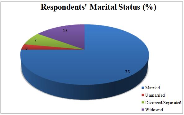 Respondents marital status