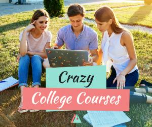 A Few Crazy College Courses